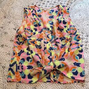 MARA HOFFMAN neon tank/blouse
